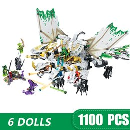 $enCountryForm.capitalKeyWord Australia - 1100PCS Small Building Blocks Toys Compatible with Legoe Ninja The Ultra Dragon Gift for girls boys children DIY