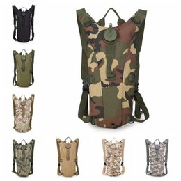 Discount casual gear backpack - 11color water bag camouflage army multi-function 3p sports backpack climbing outdoor adventure tactical backpacks gear w