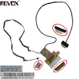 Nouveau câble vidéo flex original LCD LED pour LENOVO G500 G505 (pour cartes graphiques intégrées) PN: DC02001PS00 en Solde