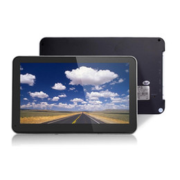 gps car navigation europe map Australia - 7 inch Capacitive Screen Car Truck GPS Navigation RAM256M-ROM8GB Navigator New Europe Russia Spain Maps