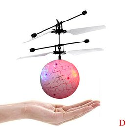 $enCountryForm.capitalKeyWord Australia - RC Drone Helicopter Ball Built-in Shinning LED Lighting For Kids Teenagers Colorful Flyings For Kids Toy 4.12drop shipping