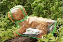 $enCountryForm.capitalKeyWord NZ - Waterproof Small Pet Dog Raincoats Waterproof Jacket Hooded Pet reain Coat Clothing Transparent Pet Dog Rainwear Size XS S M L XL p