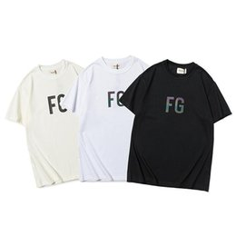 season prints Australia - FOG Fear of God Sixth Season Symphony FG Printed Round Neck Short Sleeve Unisex T-Shirt Tee s-xl