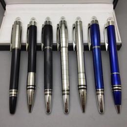 Fine art pens online shopping - Promotional Price Star Walker MONTE Ballpoint Pen Roller Ball Pen With Serial Number Office Stationery Luxury Fine Ball Pens Gift
