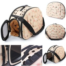 Pet Carrying Bags Australia - Pet Products Carrier Shoulder Carry Bag For Cat Puppy Small Dog Bag Puppy Kitten Outdoor Handbag Foldable Travel