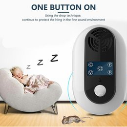 electronic mouse killer Canada - Electronic Pest Control Ultrasonic Pest Repeller Home Anti Mosquito Repellent Killer Rodent Bug Reject Mole Mice EU US UK Plug T200529
