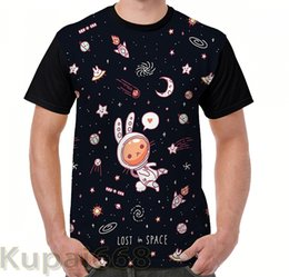826b1c15 funny Graphic print t shirt men Tops tees Lost in Space women T-Shirt Short  Sleeve Casual tshirts
