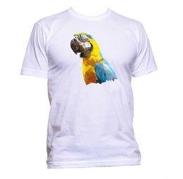 $enCountryForm.capitalKeyWord Australia - Coloured Parrot Head Animal T-Shirt Mens Womens Unisex Fashion Slogan Gift Fun Men Women Unisex Fashion tshirt Free Shipping
