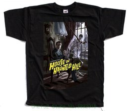 $enCountryForm.capitalKeyWord Australia - Brand 2018 New T Shirt Man Cotton House On Haunted Hill Movie Black T Shirt All Sizes S - 5xl Vincent Price