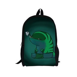 $enCountryForm.capitalKeyWord UK - THIKIN Dota2 Games Design Printing Personalized Backpack for Teenagers Bookbag Fashion Custom University Schoolbag Cool