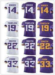 $enCountryForm.capitalKeyWord NZ - Men's Women's Youth Minnesota 33 Dalvin Cook 14 Stefon Diggs 22 HARRISON SMITH 19 Adam Thielen Custom Vikings Football Jerseys