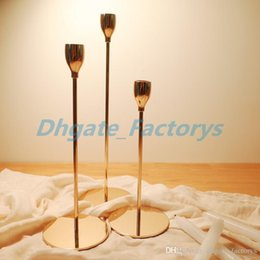 $enCountryForm.capitalKeyWord NZ - Simple moments Modern Style Gold Metal Candle Holders Wedding Decoration Bar Party Home Decor Candlestick