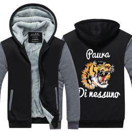 $enCountryForm.capitalKeyWord Australia - Men Casual Thicken Tiger Head 3D Printed Sweatshirts Winter Cashmere Hoodie Zipper Jacket Sweatshirts Thicken Cardigan USA EU Size