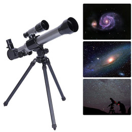 Discount tripod toy - Outdoor Monocular Astronomical Telescope With Tripod Portable Toy Children