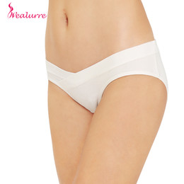 $enCountryForm.capitalKeyWord NZ - Wealurre Low Waist Maternity Panties Pregnant Cotton Breathable Belly U-Shaped Panties Soft Maternity Briefs Underwear Womens
