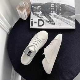 $enCountryForm.capitalKeyWord Australia - Crystal2019 Single Zhenpi Xia Shoe Woman Two Clothes Can Step On One Pedal Dawdler Soft Sole Of Shoes Woman Joker Comfortable Sneakers