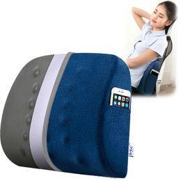 Office Chair Pads Australia - Memory Foam Seat Chair Cushion Decorative Orthopedic Coccyx Seat Cushion Office Massage Lumbar Pillow Bamboo Charcoal Pad