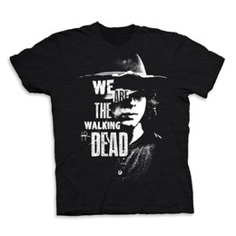 $enCountryForm.capitalKeyWord NZ - We Are The Walking Dead Carl Grimes Mens T-shirt TWD Graphic Tee Cool Casual pride t shirt men Unisex New
