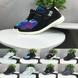 d38695facabd9 (with box) Casual Shoes Y-3 QASA RACER Hight SnEakers Kaiwa Sneakers  Breathable Black Men Women Casual Shoes Couples Y3 Shoes Size 36-45