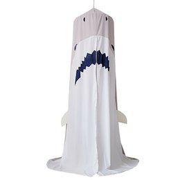 $enCountryForm.capitalKeyWord Australia - New Arrivals Kids Bed Canopy Shark Shape Tent Kids Bed Mosquito Net Cute Curtain Bedding Selling HOT