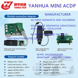 $enCountryForm.capitalKeyWord Australia - Free shipping!Yanhua Mini ACDP programming master set for New land rover Jaguar KVM 2015-2018 Add key and allkeylost no solder