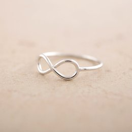 $enCountryForm.capitalKeyWord NZ - Chinese lucky symbol number 8 Unique One Direction Infinity ring Men Cute Simple Infinite Number Figure 8 Eight ring jewelry