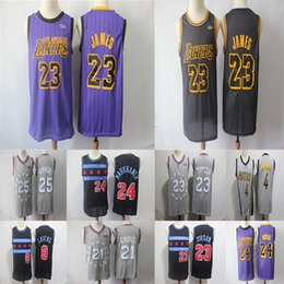 a858ea21 Lebron 23 James Dwyane 3 Wade Anthony 23 DavLakers Mavericks 77 Doncic  Brooklyn 1 Russell Booker Basketball Jerseys
