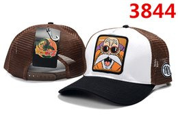 anime picture Australia - 2019 new hats Dragon Ball anime character pictures High quality luxury Mesh adjustable baseball cap Men and women caps snapback Student hats