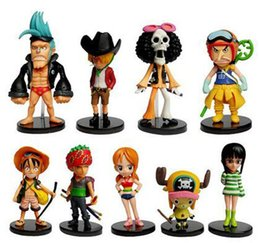One Piece Nami Doll NZ - One Piece Luffy Nami Roronoa Zoro Anime Figure Action Figures Collectible  Toys Birthdays Gifts Doll New Arrvial Hot Sale Free Shipping