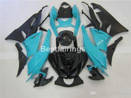 $enCountryForm.capitalKeyWord Australia - Top-selling moto parts fairing kit for Kawasaki Ninja ZX6R 09 10 blue black bodywork fairings kits ZX6R 2009 2010 2011 GT03