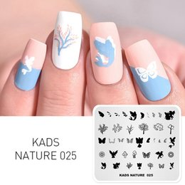 stencil painting designs Australia - Nail Art Template 36 Designs Chinese Style Ink-painting Wordart Image Template Nail Stamping Plate Nail Art Stencils una