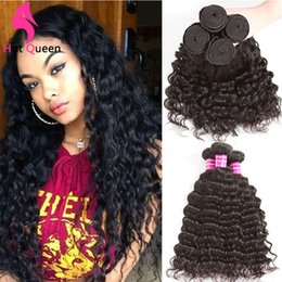 $enCountryForm.capitalKeyWord Australia - UNICE Wholesale Cheap 3 4 Bundles 30 inch Brazilian Remy Human Hair Deep Curly Gagaqueen Wet and Wavy Deepwave ali coco bad shop alimice