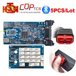 Car diagnostiC sCanner Cdp online shopping - 5pcs CDP TCS cdp pro Bluetooth R3 keygen R1 OBD2 code reader scanner cars trucks OBDII diagnostic tool DHL free