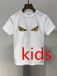 Branded Baby Kids Clothes Australia - Kids Designer Clothes Girl Baby Boy Fashion Print Cotton Clothes Designer Mens Designer T-Shirt Breathable Fashion Brand Luxury 2E-19