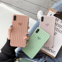 Iphone Back Hot Pink Australia - Hot Suitcase TPU Silicone Phone Case Suitcase Trunk TPU Back Cover For Iphone X XR XS Max iphone 7P 8P