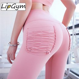 Lined Leggings Australia - Solid Booty Up Sports Legging Women's Compression Thigts M Line Butt Lift Workout Leggings Hip Push Up Stretch Yoga Pants