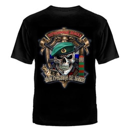 elite shirts Australia - 2019 Fashion Cool Summer Streetwear Grenztruppe Russland T-Shirt Speznas Fsb Elite Russian Army Kgb Cccp Summer Tops Tees
