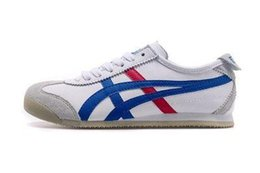 bruce lees shoes 2019 - NEWAsics Tiger Bruce lee Flat Onitsuka Running Shoes Mens And Womens Comfortable Leather Zapatillas Athletic Outdoor Spo