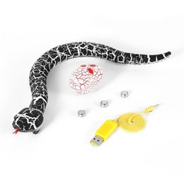 novelty toy cars NZ - OCDAY RC Snake And Egg emote Control Rattlesnake Animal Trick Terrifying Mischief Toys for Children Funny Novelty Gift New Hot