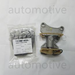 Camshaft Kits Australia - New Genuine Timing Chain + Tensioner KIT For A4 A6 Golf Jetta Passat 06D109229B 06F109217A