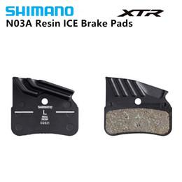 e69534afa4b Shimano N03A Resin brake pad with radiator fin For XTR BR M9120 4-piston  disc brake