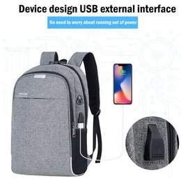 $enCountryForm.capitalKeyWord Australia - Wenyujh Backpack Laptop Backpack Usb Charging Backbag Travel Daypacks Male School Bookbag Leisure Backpack Anti Theft Mochila Y19061004