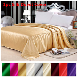 $enCountryForm.capitalKeyWord NZ - Silk Duvet Cover 1pc 100% Mulberry Silk Multicolor Solid Twin Full Queen King Cal.King Size can be customized ls170901