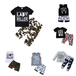 cartoon design clothes Australia - Baby Boy Cartoon Suit 12 Design Kids Cartoon Letter Tops Toddler Boy Camouflage Pocket Hoodie Kids Clothes Boy Casual Outfits 06