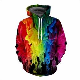 Belt Painting Australia - Mens white designer hoodie sweatshirt sweat coat pullover jackets autumn and winter new men's sweaters 3D printing painted hooded