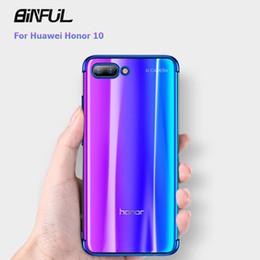 $enCountryForm.capitalKeyWord Australia - Huawei Honor 10 Case Cover Transparent Plating Tpu Soft Silicone Thin Fundas Housing Coque Back Cover For Honor10 10 Phone Cases