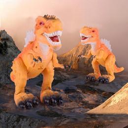 $enCountryForm.capitalKeyWord NZ - Simulation Mini Dinosaur Toy Electric Plastic Animal Sound Light Model Toys Children Kids Educational Toy Gifts