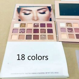 18 eye shadows Canada - Eye Shadow Shimmer Matte Eye Shadow Beauty Makeup Eyeshadow Palette 18 Colors Brand Shiny Eye Shadow