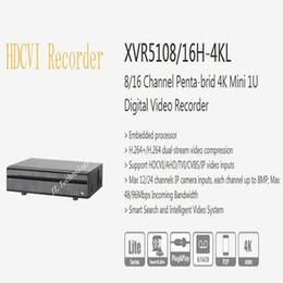 2019 Livraison Gratuite DAHUA 8 / 16Ch Sécurité Penta-brid 4K Mini 1U DVR Pas de Logo XVR5108H-4KL / XVR5116H-4KL en Solde