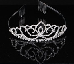 $enCountryForm.capitalKeyWord Australia - kids Crystal hairband rhinestone tiaras headband wedding party women bridal hair jewelry accessories crystal crown hair band
